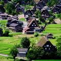 世界遺産の合掌集落-岐阜県白川村:白川郷