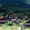視覚的なリズム-岐阜県白川村:白川郷