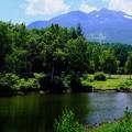 乗鞍岳を望む-長野県松本市:乗鞍高原