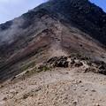 Photos: 山頂まであと少し-長野県松本市:乗鞍岳
