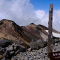 山頂に到着-長野県松本市:乗鞍岳