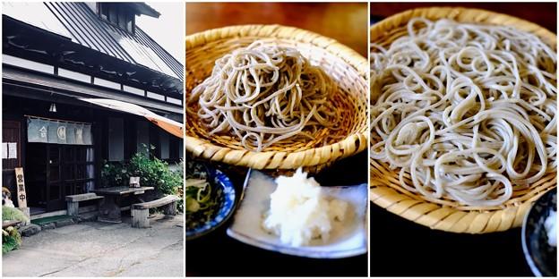 絶品の蕎麦をいただきました-長野県松本市:乗鞍高原・「そば処 合掌」
