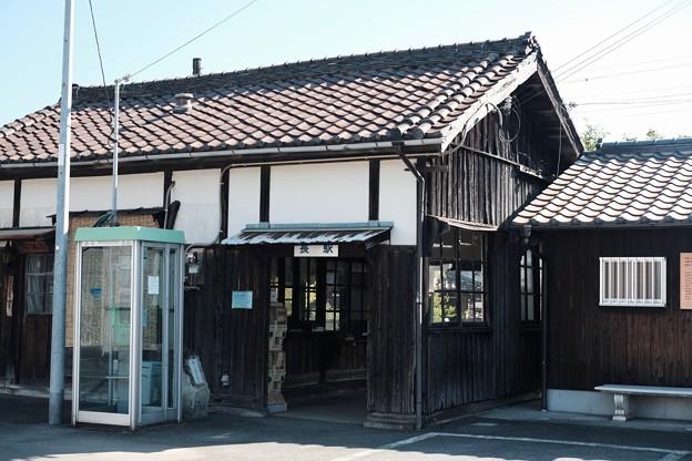 百年変わらない風景-兵庫県加西市:北条鉄道 長駅