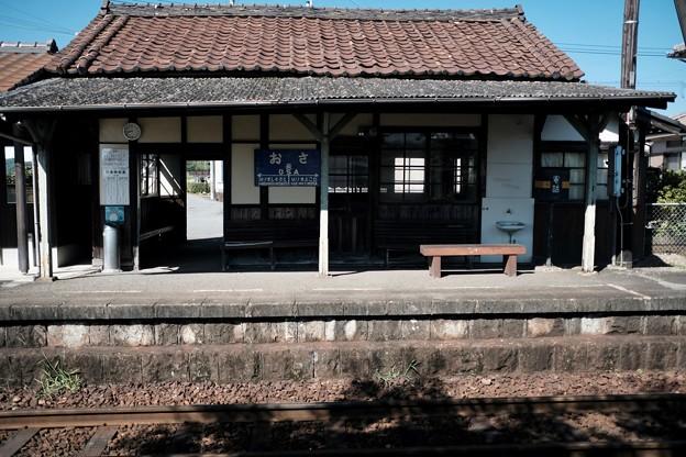 ここはいい駅だ-兵庫県加西市:北条鉄道 長駅