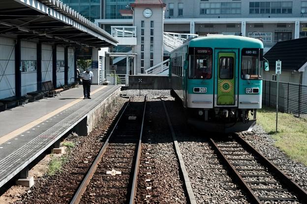 特等席-兵庫県加西市:北条鉄道 北条町駅