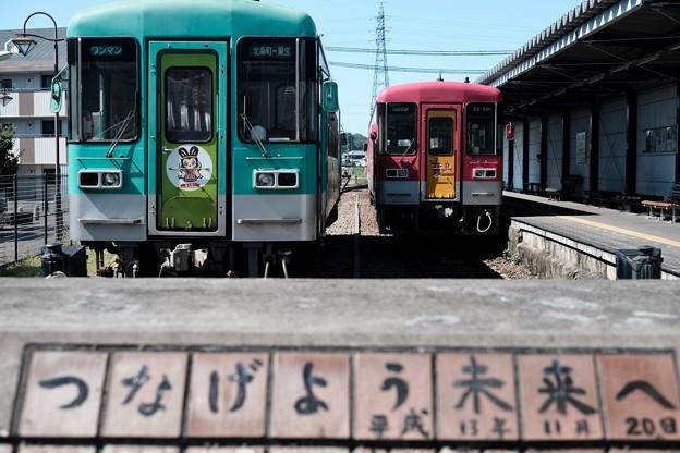 つなげよう未来へ-兵庫県加西市:北条鉄道 北条町駅