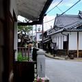 Photos: 電線と電柱-奈良県五條市:五條新町