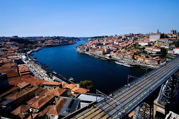 ポルトの青空-Porto, Portugal