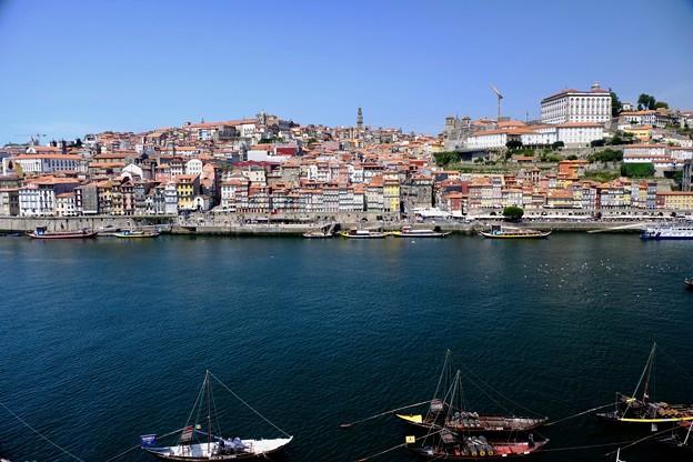 ロープウェイからの眺め-Porto, Portugal