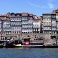 川面からの光景-Porto, Portugal