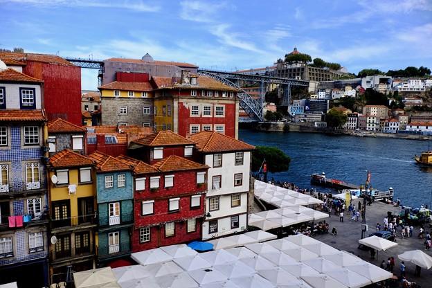 ホテルからの景観-Porto, Portugal