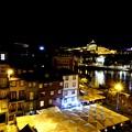 部屋からの夜景-Porto, Portugal