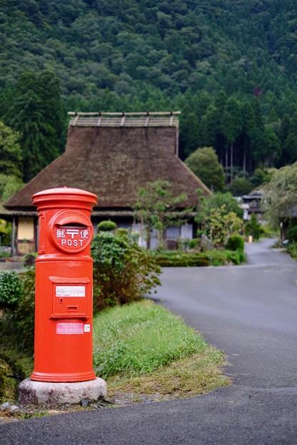 愛しの丸ポスト-京都府南丹市:美山