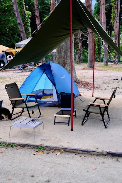 キャンプ場へ-奈良県天川村:松林オートキャンプ場