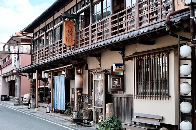 温泉街を往く-奈良県天川村:洞川温泉