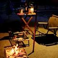 Photos: 夜のテントサイト-奈良県天川村:松林オートキャンプ場