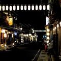 Photos: 夜の温泉街-奈良県天川村:洞川温泉