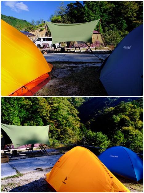 山岳テント-奈良県野迫川村:アドベンチャーランドキャンプ場