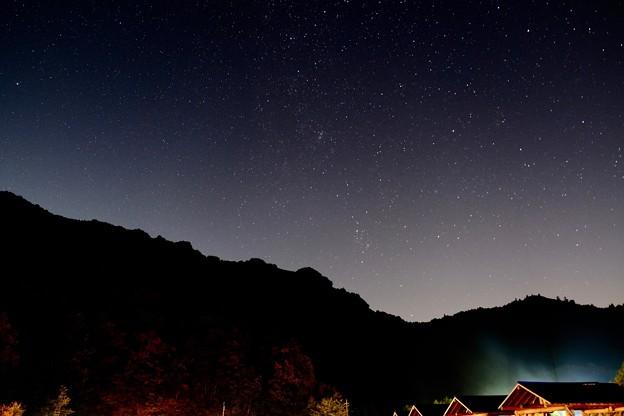満点の星空-奈良県野迫川村:アドベンチャーランドキャンプ場