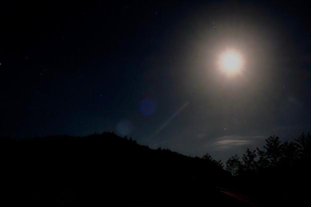 月光-奈良県野迫川村:アドベンチャーランドキャンプ場