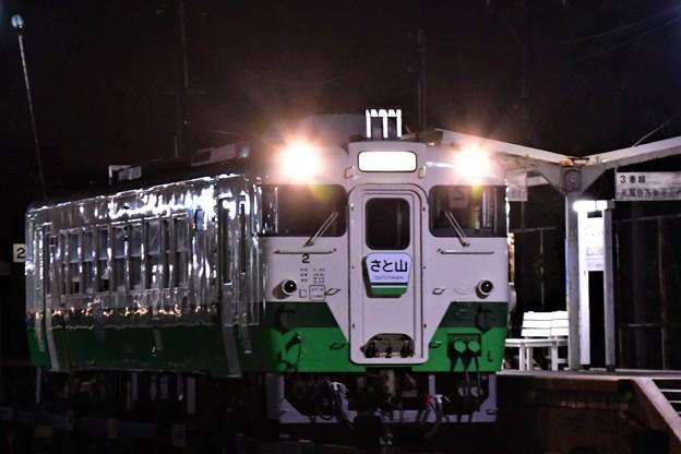 Photos: 急行さと山(夜版)
