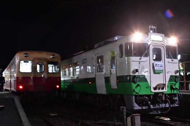 Photos: 急行さと山(夜版)2