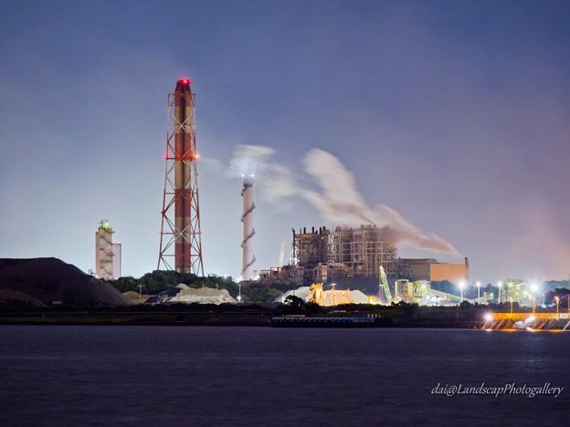 JFEスチール東日本製鉄所工場夜景