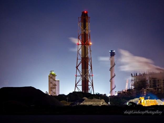 Photos: JFEスチール東日本製鉄所工場夜景