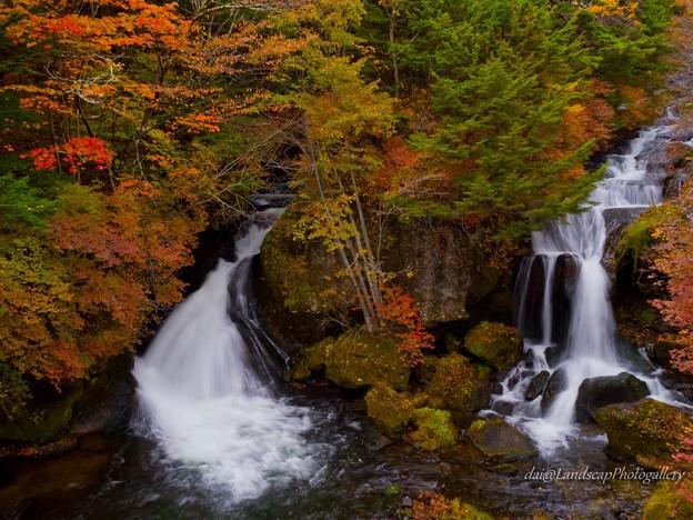 秋の竜頭ノ滝
