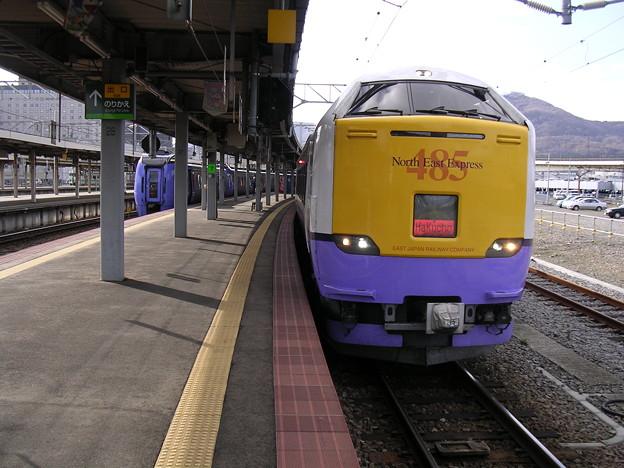 函館駅ホーム3