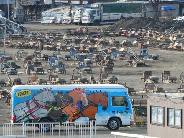 ばんえい競馬 バス