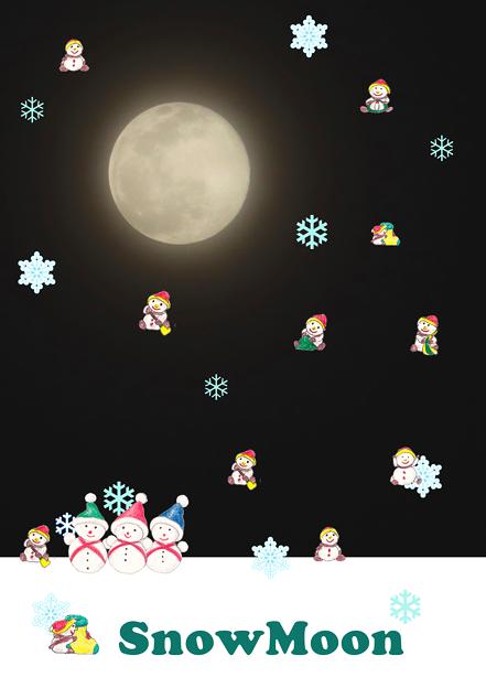 Snow Moon1~♪
