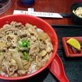 青島牛の牛丼