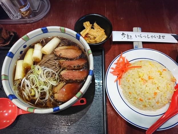 鴨南蕎麦チャーハン