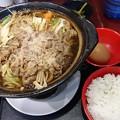 青島牛のすき焼き鍋