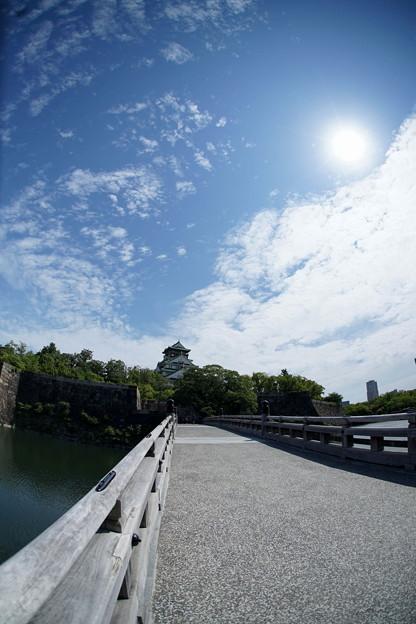 大阪城公園 ぶらぶらと