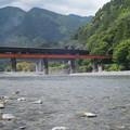 Photos: 橋を渡る!!