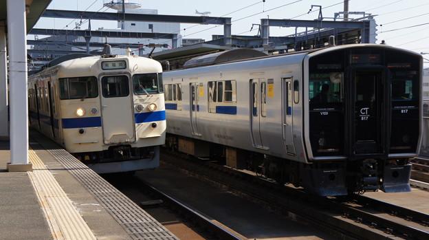 JR九州 415系 Fo108と817系 VG109