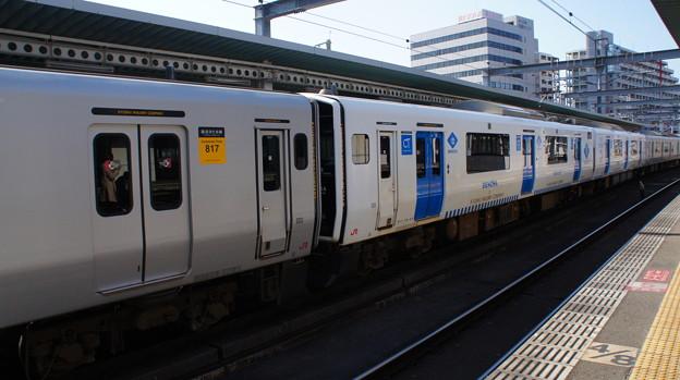 JR九州 817系 VG1101+BEC819系 ZG003