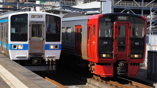 JR九州 415系と813系
