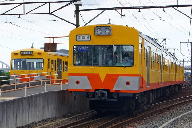三岐鉄道 801系 801Fと101系 105F