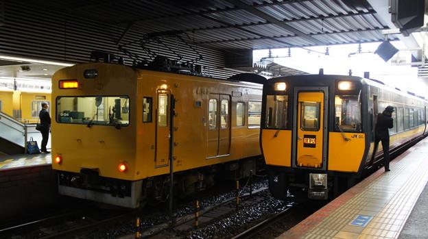 115系 G-04とキハ187 1501