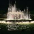 常盤公園の噴水