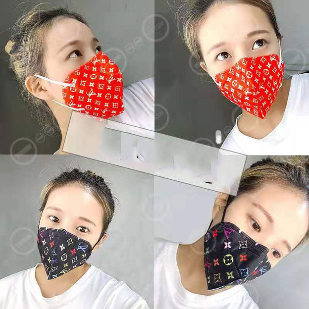 Brand Gucci LV COVID-19 Face Disposable Surgical Medical Masks