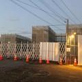 桃花台線 桃花台東駅解体撤去工事(2021年3月2日):残った柱の撤去開始 - 1