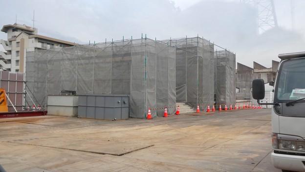 桃花台線の桃花台東駅解体撤去工事(2021年3月4日):残りの部分の撤去も開始 - 4