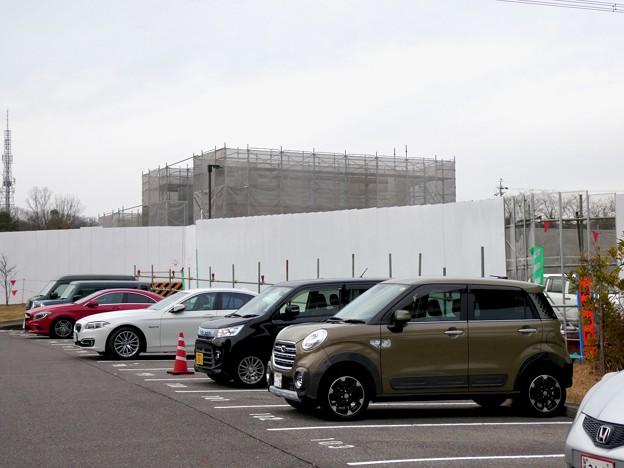 桃花台線の桃花台東駅解体撤去工事(2021年3月4日):残りの部分の撤去も開始 - 10