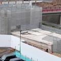 桃花台線の桃花台東駅解体撤去工事(2021年3月4日):残りの部分の撤去も開始 - 7