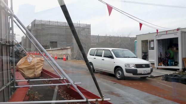 桃花台線の桃花台東駅解体撤去工事(2021年3月4日):残りの部分の撤去も開始 - 11