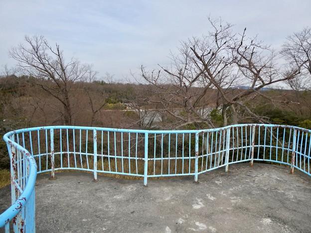 愛知県森林公園 展望台 - 2;展望台の上から見た景色